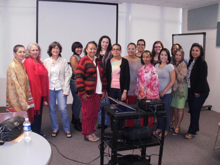 Participantes del taller, 17 de mayo de 2013