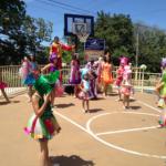 Actividad Artística con el grupo  de baile las Sencillas y su comparsa de Guayama