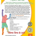 Proyecto ALCANZA: Talleres