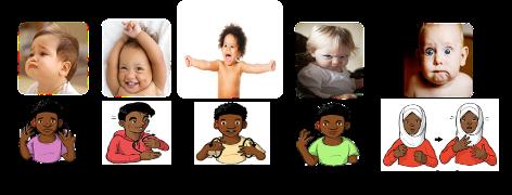 Imágenes de lenguaje de señas