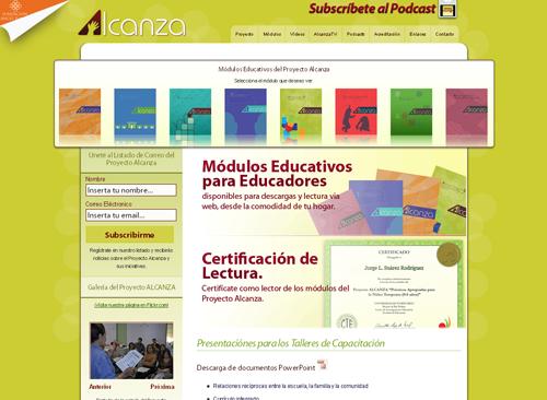 Página del Proyecto ALCANZA