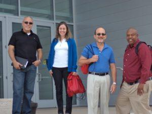 PR Team with MSU Myron Anderson