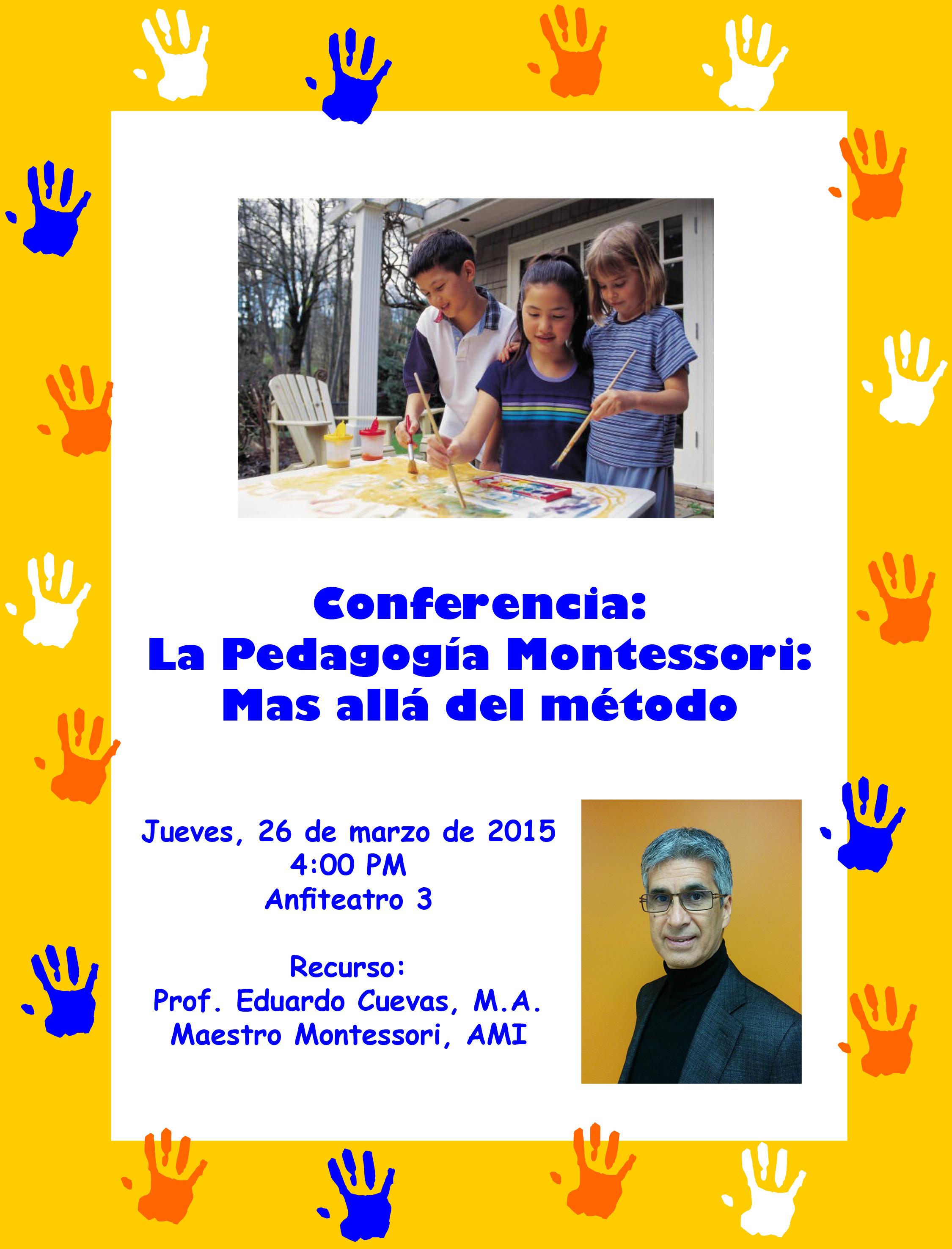 Conferencia Montessori